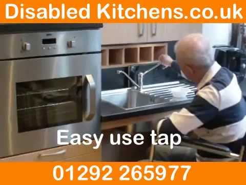 Disabled kitchen design and kitchens for disabled people youtube Kitchen design for elderly