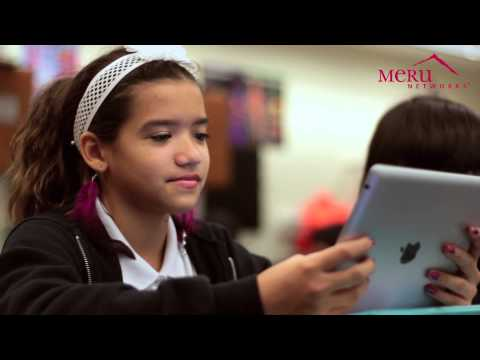 Miami-Dade County Public Schools enables new ways of teaching with Meru Wi-Fi.
