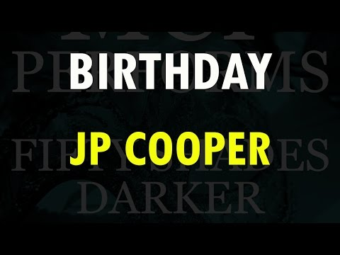 Birthday - JP Cooper cover by Molotov Cocktail Piano