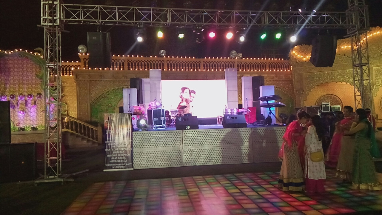 Complete dj sound light stage setup with Led Wall Background for wedding event 09891478183 & Complete dj sound light stage setup with Led Wall Background for ... azcodes.com