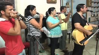 """Adoração com Pe. Aylson Bessa Cavalcante """"Tv Canal 20 Montes Claros"""" 24/01/13"""