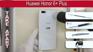 How to disassemble 📱 Huawei Honor 6 Plus (PE-UL00) Take apart Tutorial