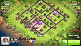 Clash of Clans ROB HIT CRYSTAL LEAGUE!!!