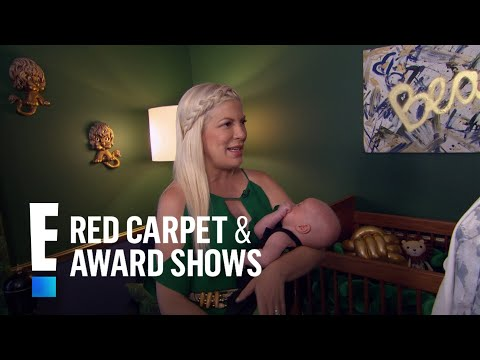 Tori Spelling Spills on Life With Baby No. 5  E! Live from the Red Carpet
