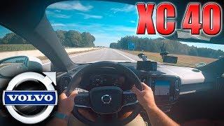 Volvo XC40 T5 AWD   Pushing on German Autobahn✔