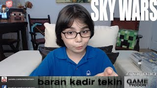 SKY WARS MİNECRAFT'TA GÜÇ UYANDI !!!