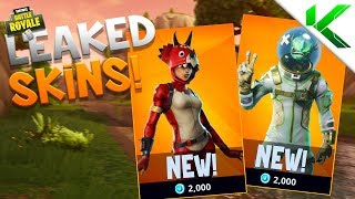 *NEW* LEAKED SKINS, PICKAXES & GLIDERS + FREE SKIN! - Fortnite: Battle Royale