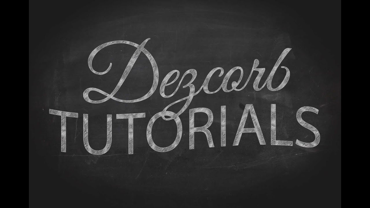 Make a Chalkboard-Style Scribble and Smudge