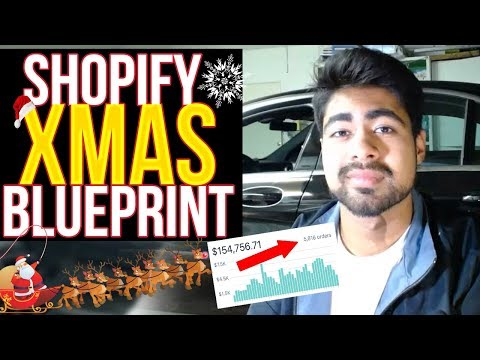 ULTIMATE Christmas Dropshipping Strategy For Shopify thumbnail