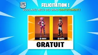 HOW to GET ALL THE SKINS OF FORTNITE BATTLE ROYALE FREE!