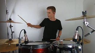 Download All Night Remix (Ena Ena) - Rizky Ayuba (Drum cover by Aaron Schaefer)