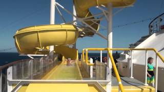 Carnival Spirit Cruise Ship Green Thunder and Serenity Retreat