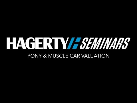 Pony & Muscle Car Valuation | Hagerty Seminar
