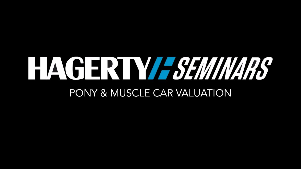 Hagerty Car Values >> Pony Muscle Car Valuation Hagerty Seminar Youtube