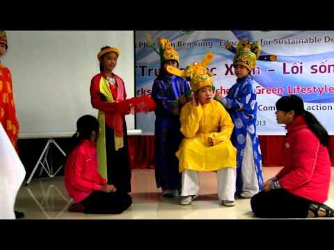 Táo quân chầu trời-Học sinh Trường Hàm Nghi