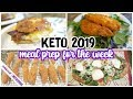 🚀 KETO 2019 Meal Prep  🥓 The BEST Keto Chicken🍗 KETO Pizza 🍕 Keto bagels 🥯  KETO Cook with me