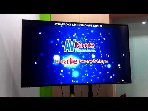 Kết Nối Laptop Với TV Và Loa Kéo Di động Hát Karaoke Gia đình Với AVkaraoke