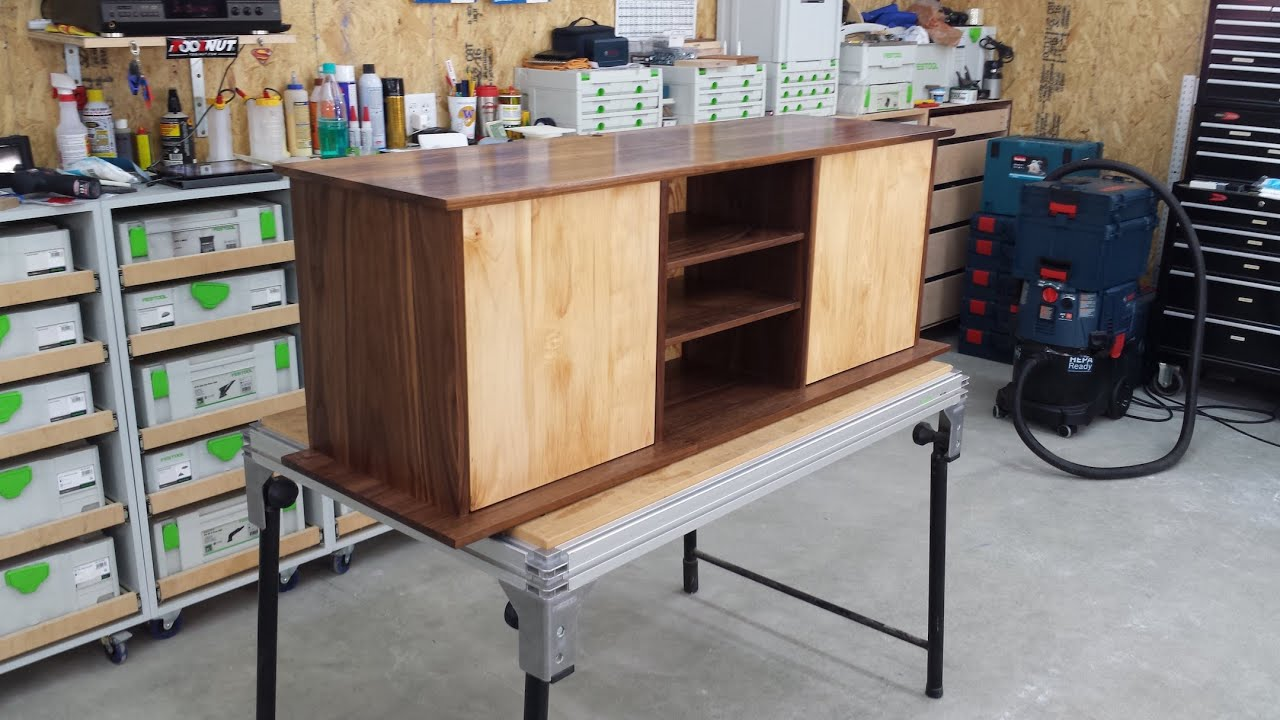Floating Entertainment Center Build Part 5 of 5