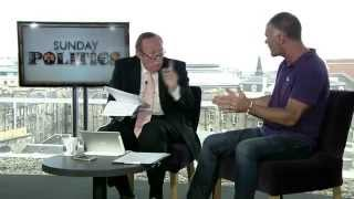 Tommy Sheridan interviewed  about Scottish Independence on BBC Sunday Politics