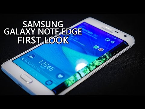 Samsung Galaxy Note Edge first impressions!