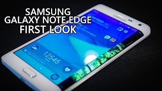 Samsung Galaxy Note Edge First Look!(The Samsung Galaxy Note Edge is the Galaxy Note 4 with a not-so-subtle curve on its side. Josh brings you the first look at a truly different take on the Note ..., 2014-09-03T13:30:03.000Z)