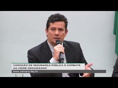 Segurança Pública e Combate ao Crime Organizado - Presença do ministro Sérgio Moro - 08/05/2019