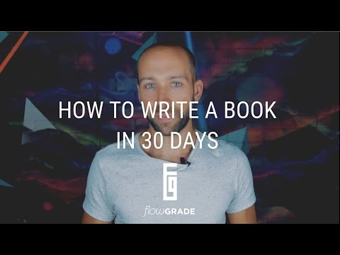 how to write a book in 30 days 2014-2-27 copyright true potential media 2014 how to write a book in 30 days/ 4 and don't edit what you wrote previously (that comes later), just take a few minutes to see the thoughts you put into words.