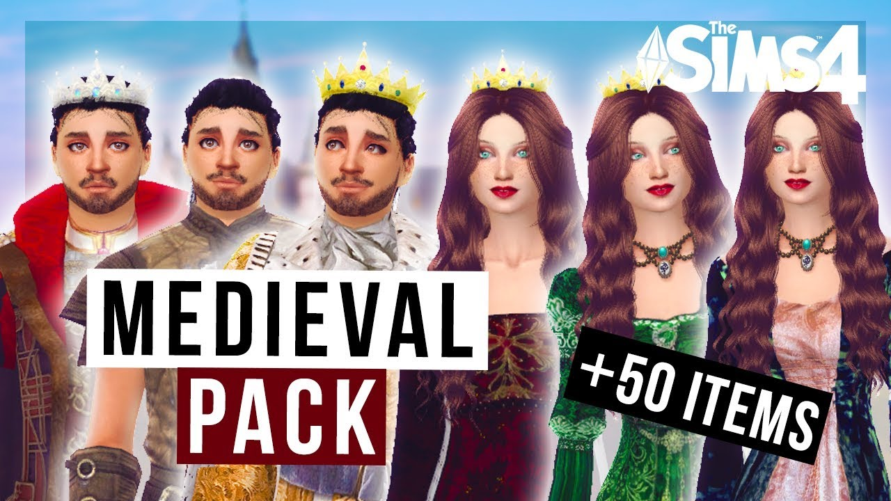 The Sims 4 PACK MEDIEVAL  50 items   DOWNLOAD YouTube