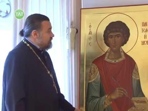 Дар строящемуся Свято-Троицкому храму - икона