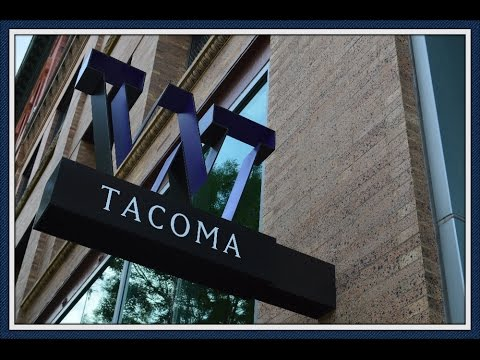 Touring Downtown Tacoma, Washington!
