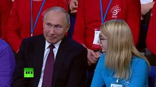 """видеомонпансье """"стакан воды для Путина"""""""