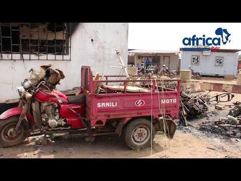 Togo terminal du Sahel mis à feu