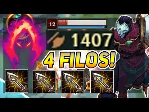 ¡1400 AD JHIN GANA TUS RANKEDS CON ESTAS RUNAS Y BUILD! | JH