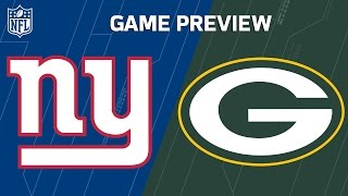 Giants vs. Packers | Eli Manning vs. Aaron Rodgers | NFL Wild Card Weekend Previews