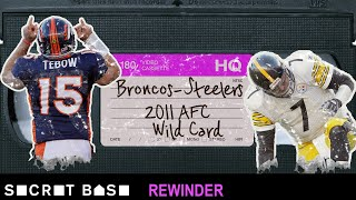 Tim Tebow's playoff overtime miracle deserves a deep rewind | 2011 AFC Wild Card Broncos vs Steelers