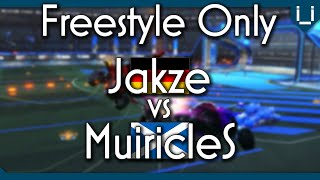 MuiricleS vs Jakze Freestyle 1v1 Rocket League