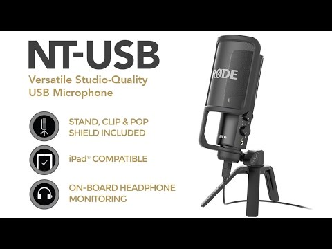 Introducing the new NT-USB microphone