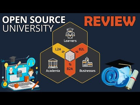 Open Source University Review| NEW Online Educational Project