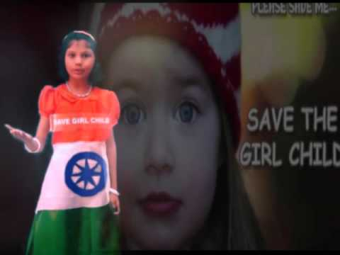 8d0af448c Save Girl Child Fancy Dress Competition - YouTube