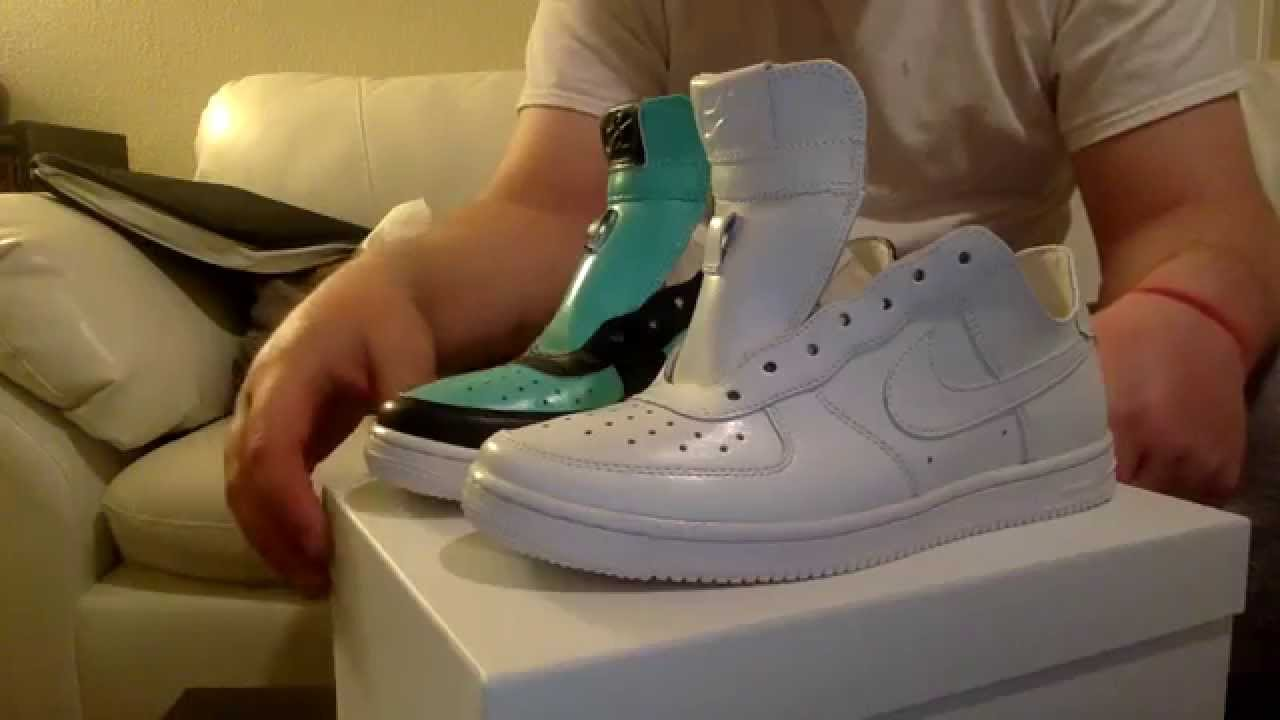 Nike Air Force 1 High White And Grey