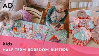 (AD) HALF-TERM BOREDOM BUSTERS - HOW TO ENTERTAIN KIDS