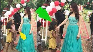 Tamanna Bhatia For Handshake Poor Child : Cute Video