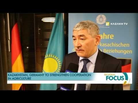 Kazakhstan, Germany to strengthen cooperation in agriculture