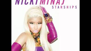 Nicki Minaj - Starships [CLEAN]