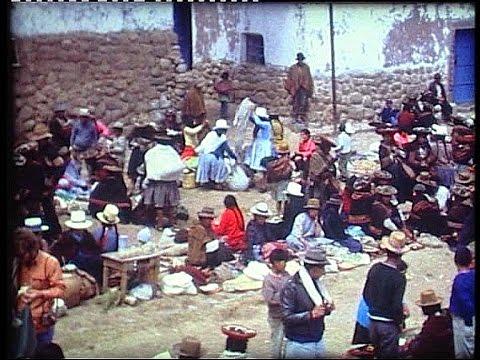 Peru 1972 to the Inca ruins of Machu Picchu
