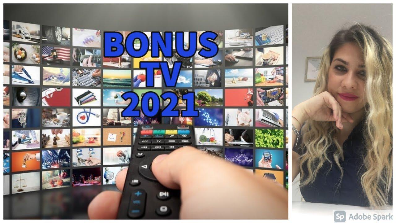 Bonus TV 2021 tutti i segreti - YouTube