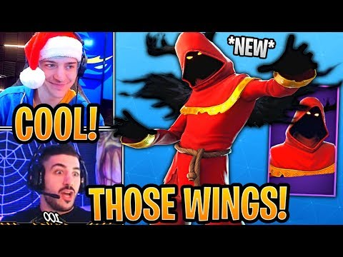 Streamers React to *NEW* Cloaked Shadow Skin! - Fortnite Best and Funny Moments