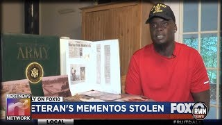 Thief Steals Combat Vet's Military Mementos – 'I'd Give My Soul To Get Those Things Back'