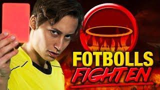 Fotboll På Studsmatta!   Fotbollsfighten med IJWTBC