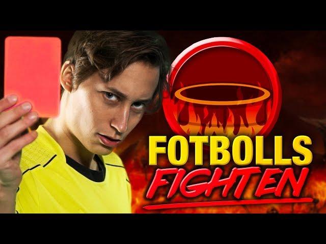Fotboll På Studsmatta! | Fotbollsfighten med IJWTBC